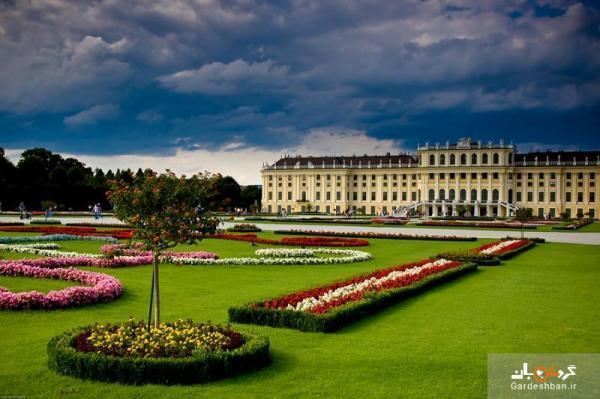 کاخ شونبرون وین؛ مهم ترین نقطه توریستی اتریش، عکس