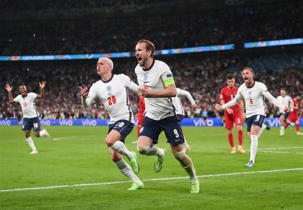 یورو 2020، انگلیس حریف ایتالیا در فینال شد، اولین صعود تاریخ سه شیر به بازی نهایی