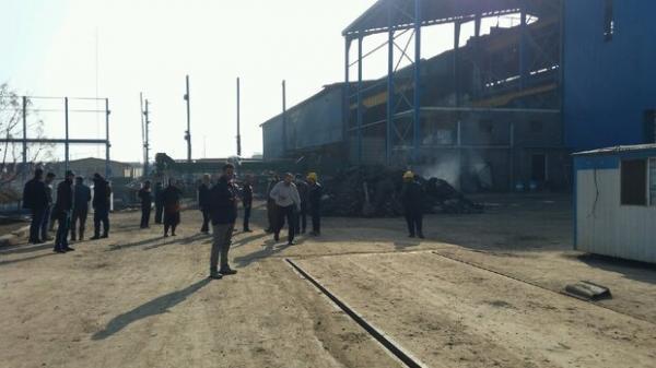دو کشته در پی حادثه انفجار مهیب در شهرک صنعتی سلفچگان قم