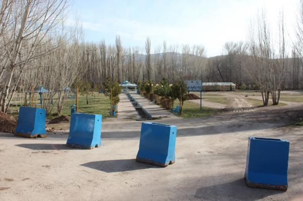 خبرنگاران پارک ها و بوستان های خلخال مسدود شد