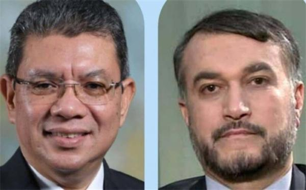 تور مالزی: وزیر امور خارجه مالزی به امیرعبداللهیان تبریک گفت